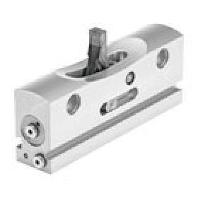 Pneumatic drives Intermediate position module for mini slide DGSL FESTO