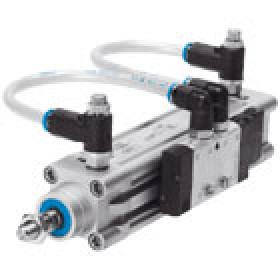 Pneumatic drives Configurable cylinder and valve combinations DNC-V FESTO