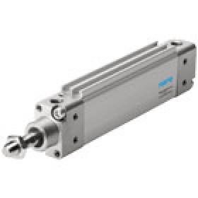 Pneumatic drives Flat cylinder DZH, metric FESTO