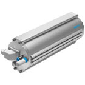 Pneumatic drives Linear drive with DFPI displacement encoder FESTO