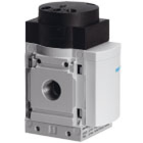 Pneumatically actuated soft-start valves MS6-DL FESTO
