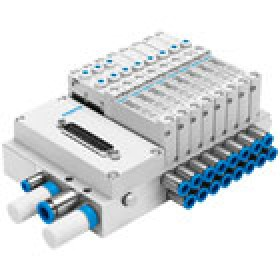 Valve terminal VTUG with multi-pin plug or fieldbus connection FESTO
