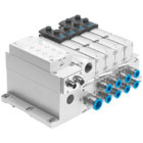 Valve terminals VTSA-NPT with AS-interface connection FESTO