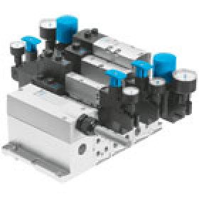 Valve terminals VTSA-NPT with multi-pin plug connection FESTO
